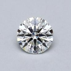 Recommended Stone #1: 0,42-Carat Round Cut