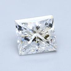 Recommended Stone #4: 1.28-Carat Princess Cut