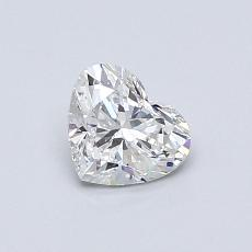 推荐宝石 4:0.55 克拉心形