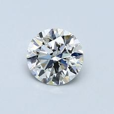 Recommended Stone #3: 0,57-Carat Round Cut