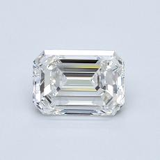 Recommended Stone #4: 0,79-Carat Emerald Cut