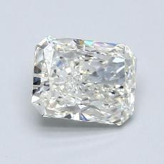 Pierre recommandée n°1: Diamant taille radiant 0,91 carats