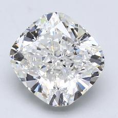3.01-Carat Cushion Diamond Very Good G VS1