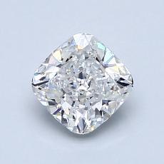 1.00-Carat Cushion Diamond Very Good F VVS2