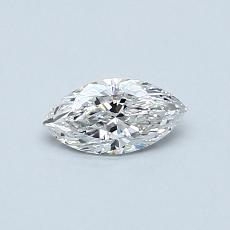 0.30-Carat Marquise Diamond Very Good F VS2