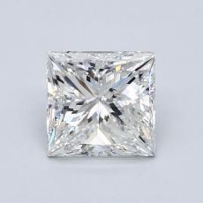 Pierre recommandée n°3: Diamant taille princesse 1,20 carat