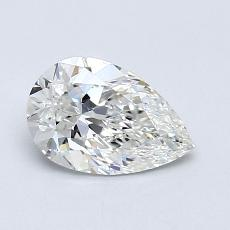 Recommended Stone #2: 0.75-Carat Pear Cut Diamond