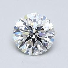 1.03-Carat Round Diamond Ideal E VVS1