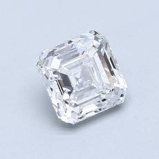 Recommended Stone #1: 1.25-Carat Asscher Cut Diamond