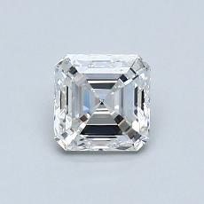 Piedra recomendada 3: Diamante de talla Asscher de 0.63 quilates