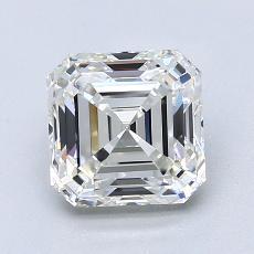 Recommended Stone #3: 1,80-Carat Asscher Cut Diamond