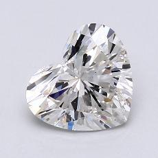 Piedra recomendada 4: Diamante con forma de corazón de 1.52 quilates
