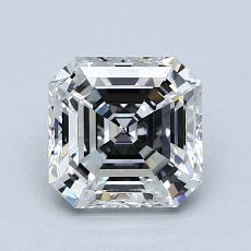 推薦鑽石 #2: 1.44  克拉上丁方形鑽石