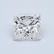 1.01 Carat 公主方形 Diamond 非常好 F VVS2