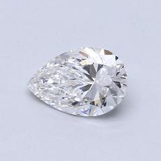 0.50 Carat 梨形 Diamond 非常好 E VS2