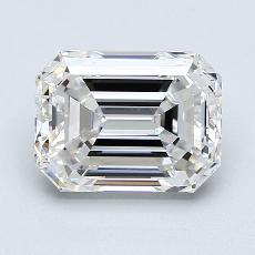 Recommended Stone #2: 2.50-Carat Emerald Cut Diamond