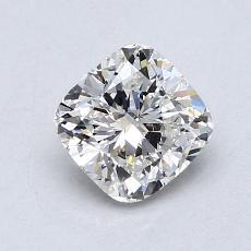 1.01 Carat クッション Diamond ベリーグッド H VS1