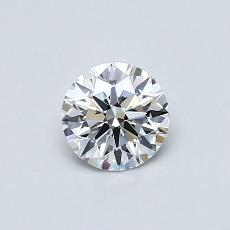 Recommended Stone #1: 0,50-Carat Round Cut Diamond