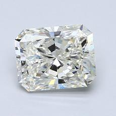 1.50-Carat Radiant Diamond Very Good J SI1