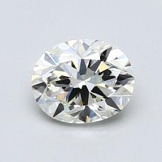 Recommended Stone #3: 0.78-Carat Oval Cut Diamond