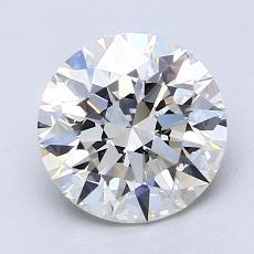 2.01 Carat 圓形 Diamond 理想 G VS2