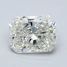 Pierre recommandée n°4: Diamant taille radiant 1,38 carats