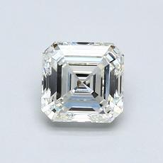 推薦鑽石 #1: 0.90 克拉上丁方形切割
