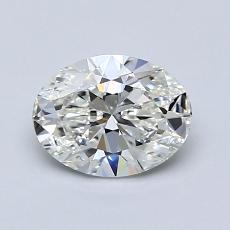 Recommended Stone #2: 1.01-Carat Oval Cut Diamond