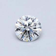 0.50 Carat 圓形 Diamond 理想 D VS1