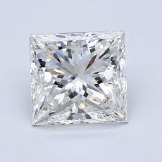 Pierre recommandée n°3: Diamant taille princesse 1,90 carat