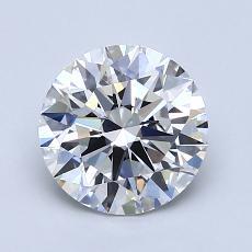 1.50-Carat Round Diamond Ideal D VS1