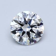 1.01-Carat Round Diamond Ideal E VS1