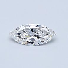 0.31-Carat Marquise Diamond Very Good E VS1