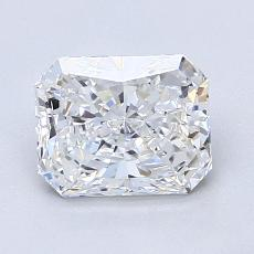 Recommended Stone #2: 1.50-Carat Radiant Cut Diamond