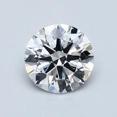 Pierre cible: Diamant taille ronde 1,00 carat