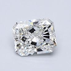 Pierre recommandée n°4: Diamant taille radiant 1,01 carats