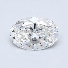 Target Stone: 0.74-Carat Oval Cut Diamond