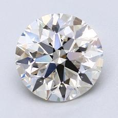 2.01 Carat 圆形 Diamond 理想 J VS1