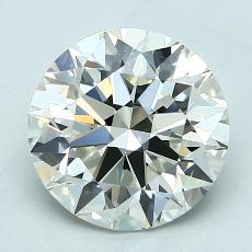推荐宝石 3:2.59克拉圆形切割钻石