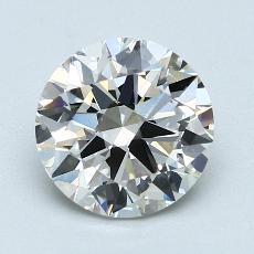 2,01 Carat Rond Diamond Idéale H VS1