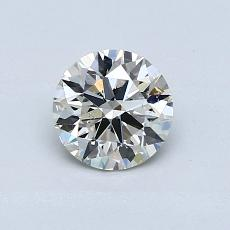 Recommended Stone #4: 0,70-Carat Round Cut Diamond