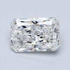 Pierre recommandée n°1: Diamant taille radiant 1,80 carats
