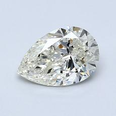 Current Stone: 0,90-Carat Pear Shaped