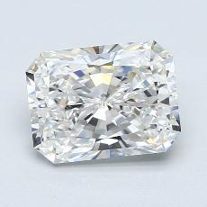 2.00-Carat Radiant Diamond Very Good F VVS1