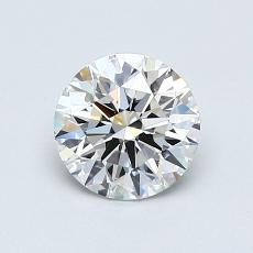 Recommended Stone #1: 0.90-Carat Round Cut Diamond