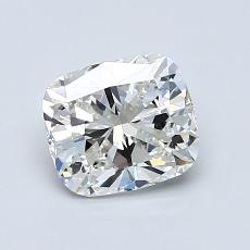 1.01-Carat Cushion Diamond Very Good H VVS2