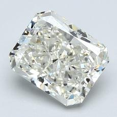 2,06-Carat Radiant Diamond Very Good J VS2