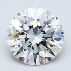 2.01 Carat 圓形 Diamond 理想 I VS2