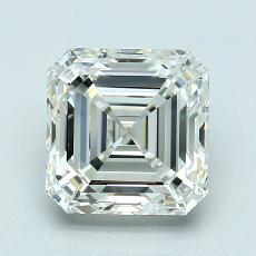 3,03-Carat Asscher Diamond Very Good J VVS1