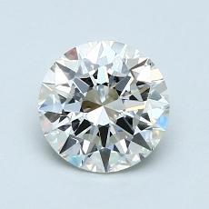 1,00 Carat Rond Diamond Idéale H VVS1